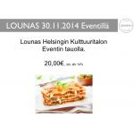 Event  Lounas 30.11.2014