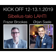 Kick - Off Event Lippu 175 € 12-13.1.2019
