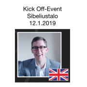 Kick-Off Event LA + lounas Lippu 90 € 12.1.2019