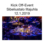 Kick-Off Event LA ILLALLINEN  50 € 12.1.2019